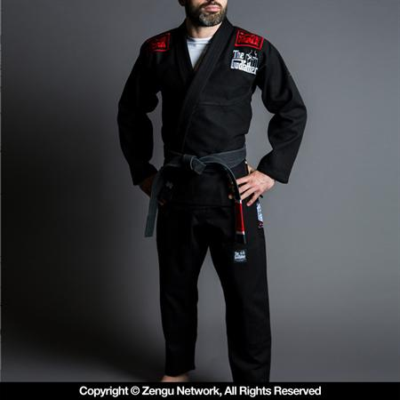 Scramble The Godfather Black BJJ Gi
